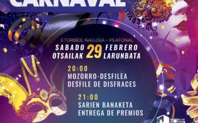 Gran noche de carnaval con DJ  CSM