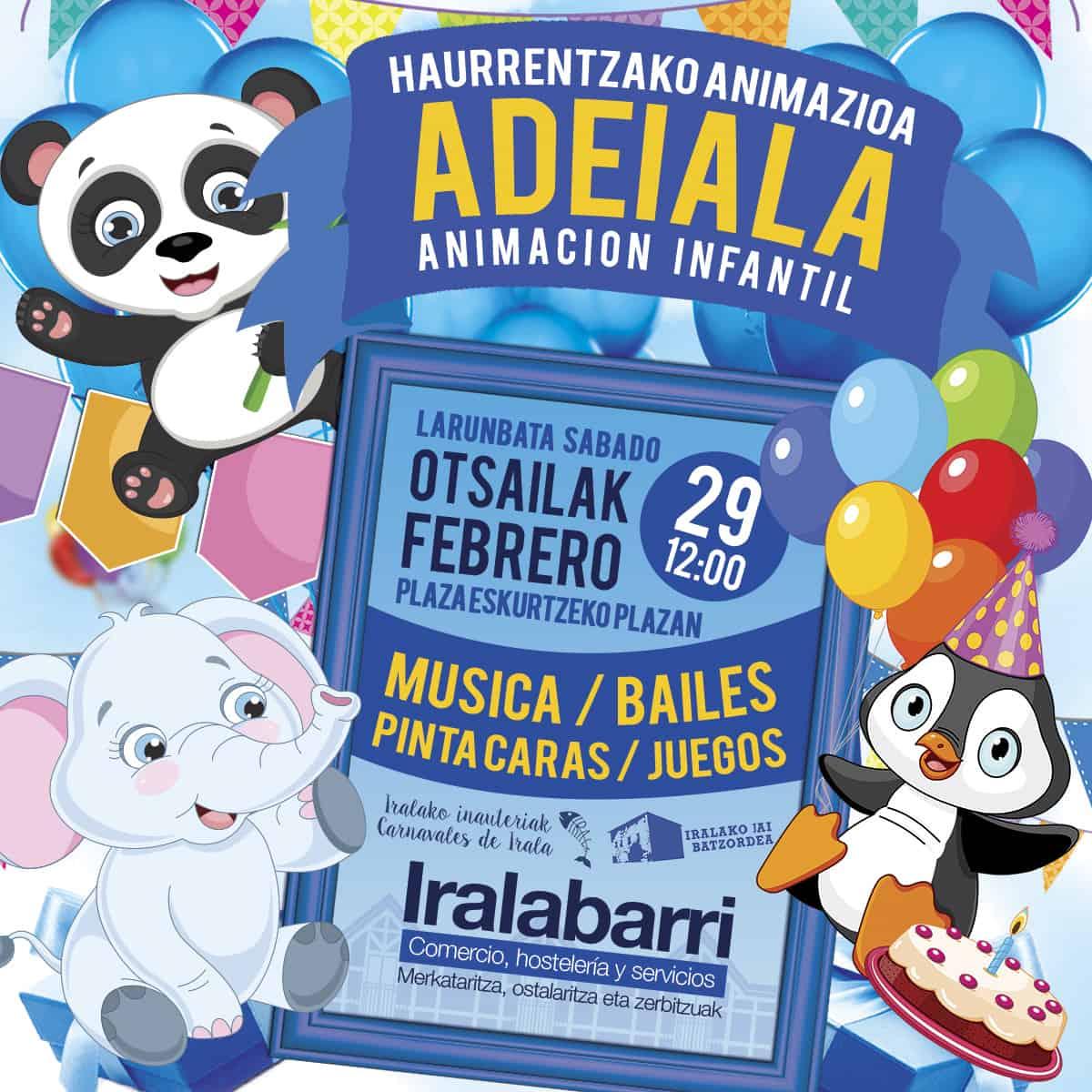 Animación infantil por Carnavales